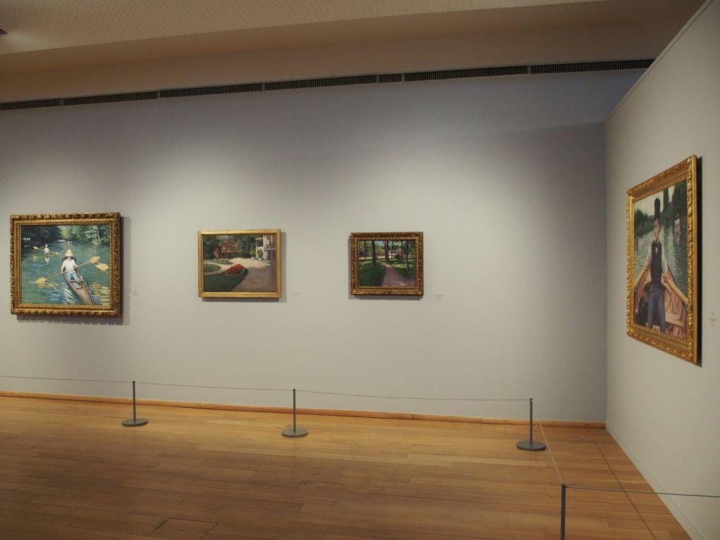 Vues de l'exposition Caillebotte peintre et jardinier, musée des impressionnismes, Giverny © Le Curieux des arts Gilles Kraemer, visite presse