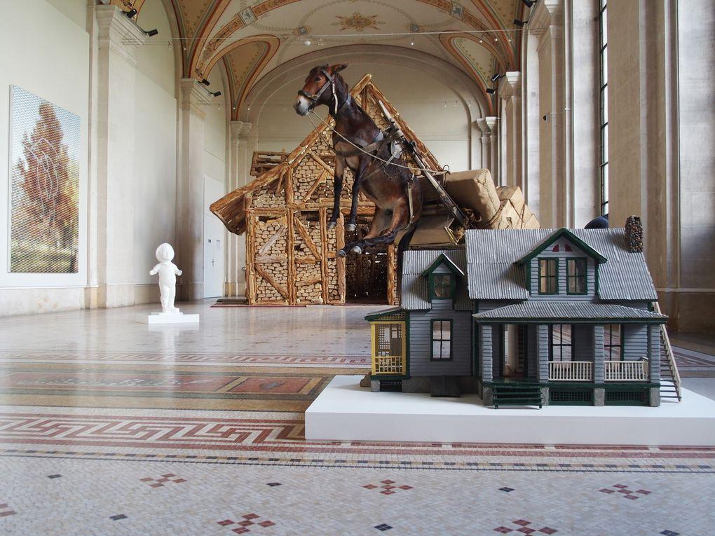 Vues de l'exposition Urs Fischer - Faux Amis © Le Curieux des arts Gilles Kraemer, visite presse, musée d'Art et d'Histoire, Genève
