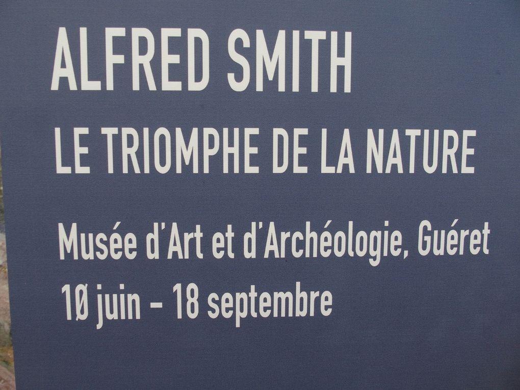 Vues des expositions Alfred Smith  &  Eugène Alluaud © photographies Le Curieux des arts Gilles Kraemer, visite presse des exposition à Guéret  &  Éguzon, juin 2016