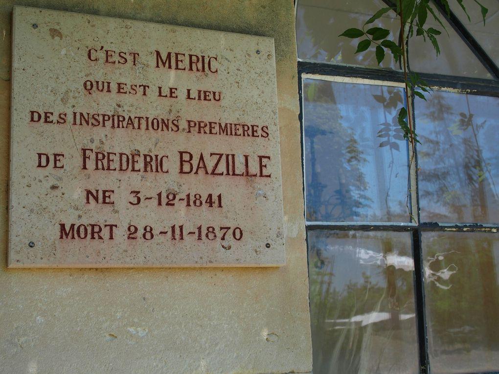 Vues du domaine de Méric, Montpellier © photographies Le Curieux des arts Gilles Kraemer, visite presse, juin 2016