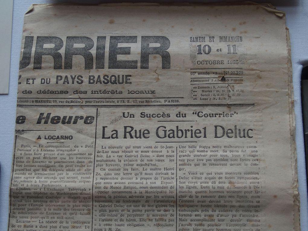 Vues de l'exposition Gabriel Deluc © photographies Le Curieux des arts Gilles Kraemer, exposition Gabriel Deluc, Guéthary, 4 juillet 2016