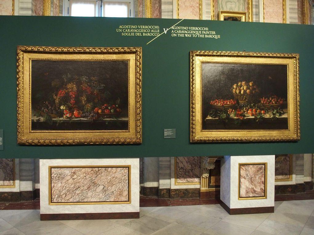 © photographies Le Curieux des arts Gilles Kraemer, Rome, Galleria Borghese. Exposition L'Origine della natura morta in Italia. Caravaggio e il Maestro di Hartford. Visite presse 15 novembre 2016