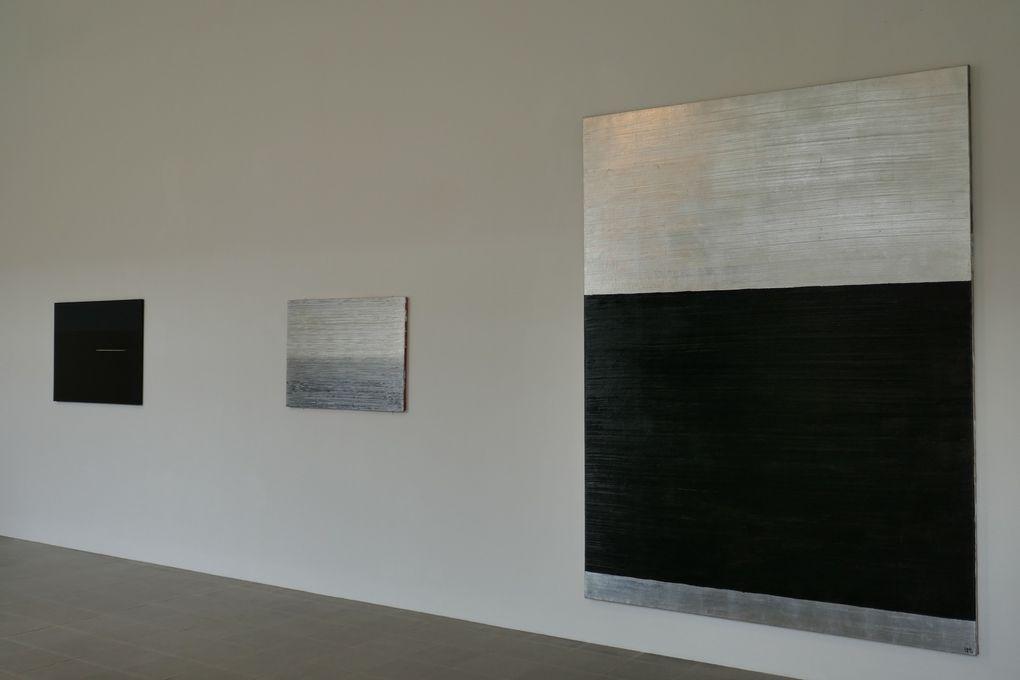 © photographies Le Curieux des arts Gilles Kraemer, vues de l'exposition Anna-Eva Bergman. L'atelier d'Antibes (1973-1987), domaine de Kerguéhennec, 2017