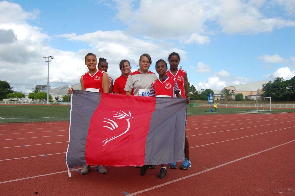 Match Océanie minimes, Nouvelle-Calédonie 2014