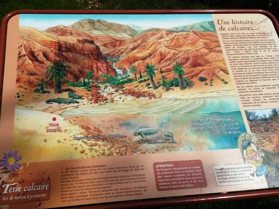 C'était le 26 avril, l'environnement des collines sèches, en itinéraire découverte