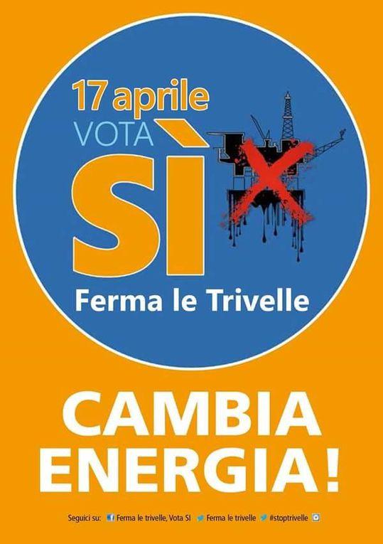 Il costo del petrolio: Basilicata, il disastro ambientale della Val d'Agri. Intanto, per il referendum di domani, vota SI.