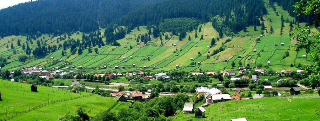 Paysages de la Roumanie
