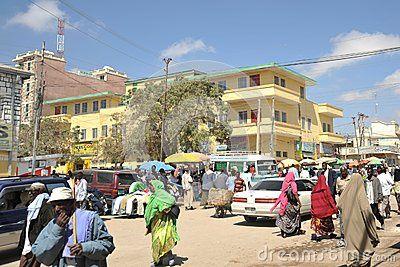Vistas de  panoramas de Hargeisa, Capital de Somalilandia.- El Muni.