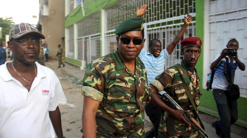 Imágenes del general burundés General Leonard Ngendakumana.- El Muni.
