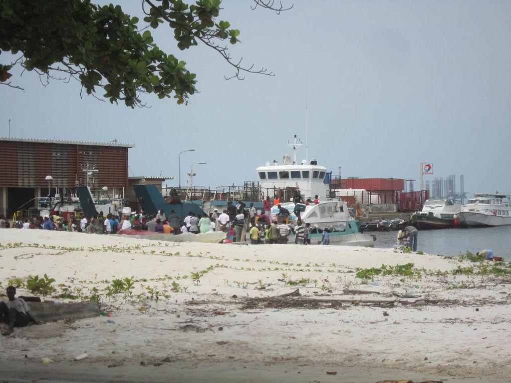 Imágenes de Port-Gentil, Gabón.- El Muni.