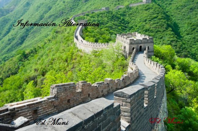 Vistas de la muralla china.- El Muni.