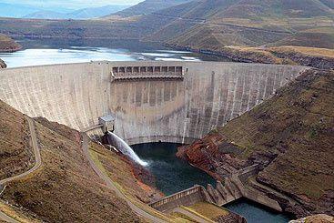 Imágenes sobre la sequía en Sudáfrica.- El Muni.