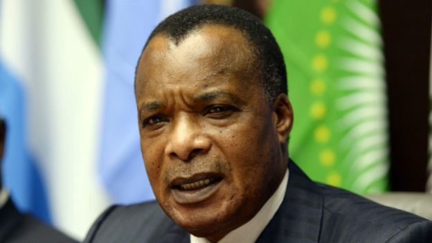 Imágenes de manifestaciones reprimidas en Brazzaville, contra el dictador  Denis Sassou Nguesso Congo Brazza de Congo.- El Muni.