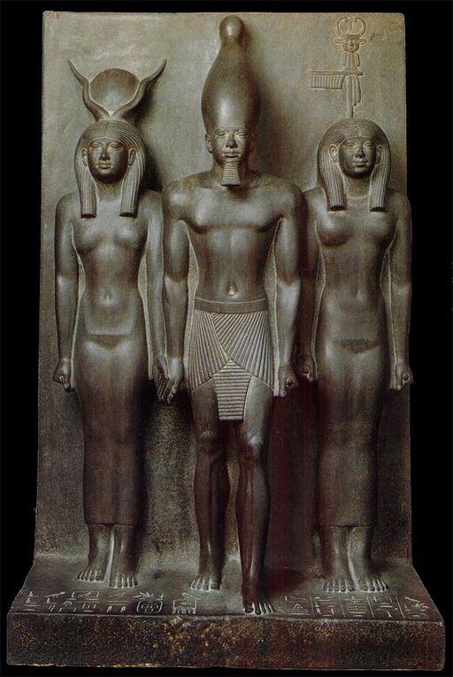 Imágenes retratos del Egipto antiguo.- El Muni.