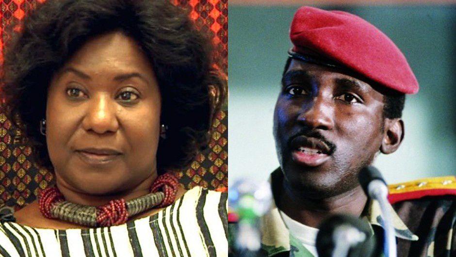 Imágenes de Thomas y Mariam Sankara, expresidente aesinado  de Burkina Faso y su viuda.- El Muni.