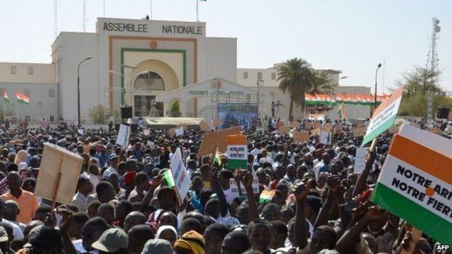 Imágenes de Niamey, capital de Níger.- El Muni.