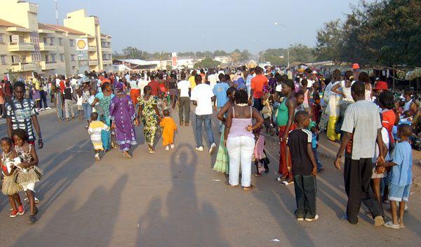 Imágenes de Guinea Bissau.- El Muni.- El Muni.