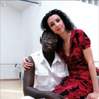 La bailarina española Sonia Sampayo,  tercera esposa de Pap N'Diaye.- El Muni.