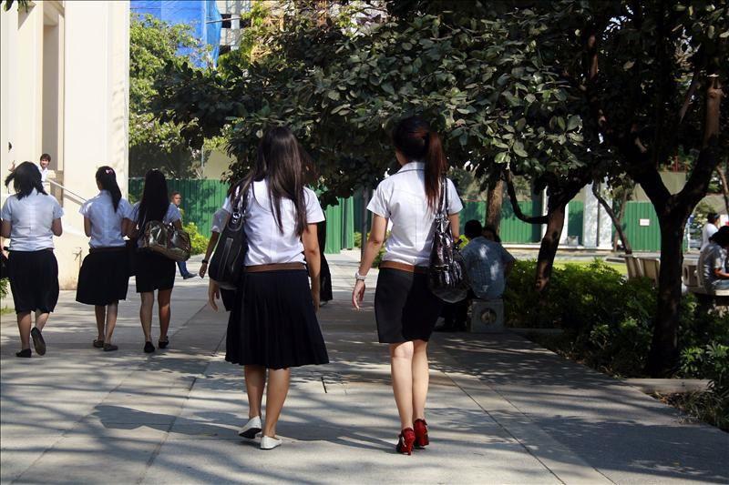 Imágenes de la Universidad de Bankok, Tailandia.- El Muni.