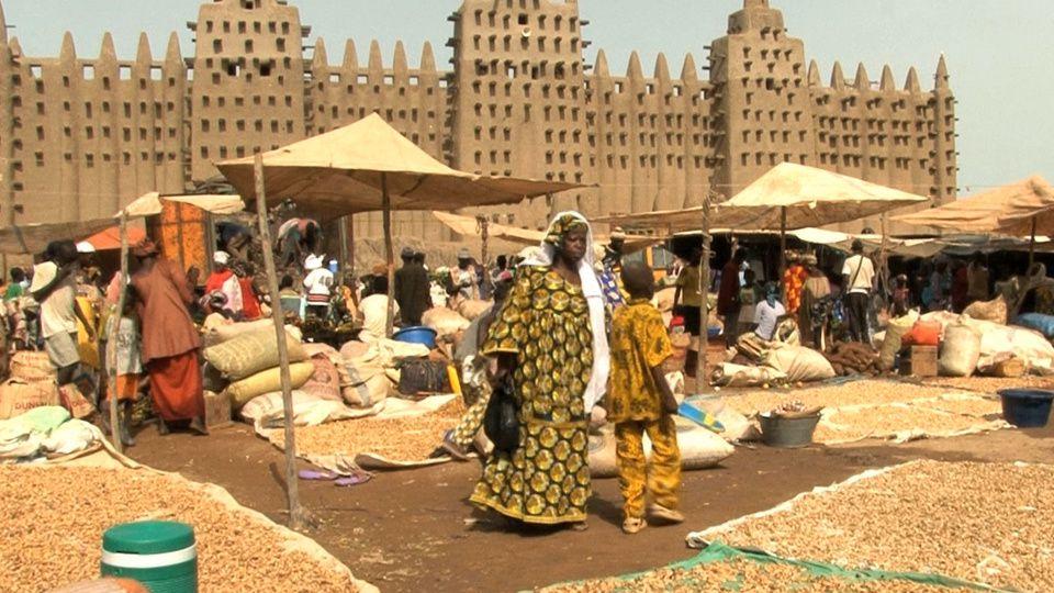 Imágenes de Tombouctou, patrimonio mundial de la humanidad, norte de Malí.- El Muni.