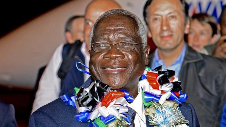 Afonso Dhlakama, líder opositor del partido RENAMO, Mozambique.- El Muni.