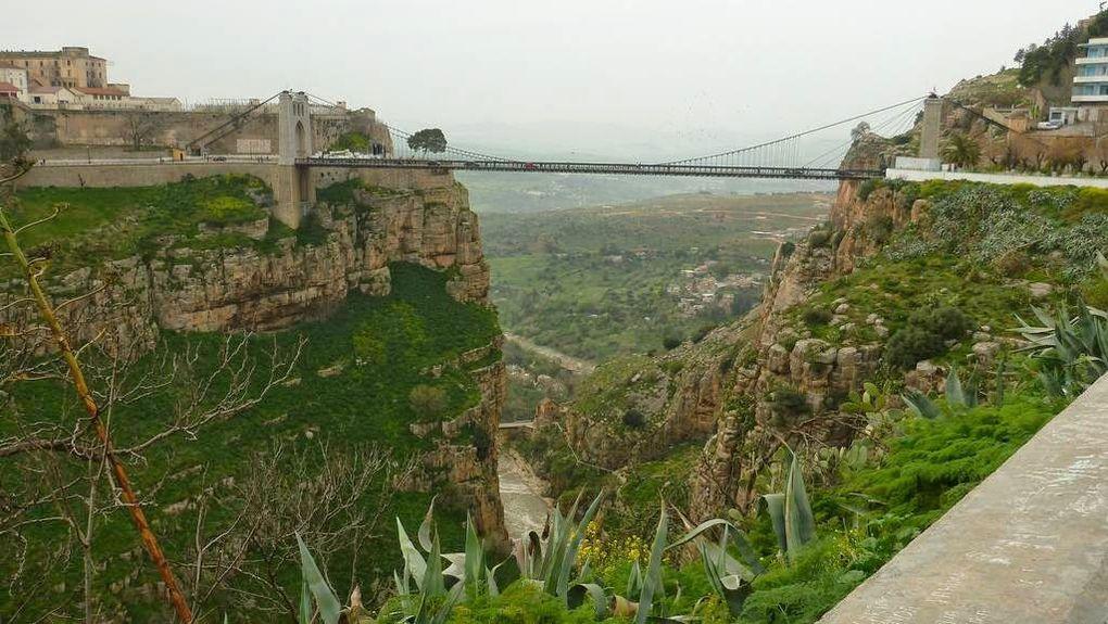 Imágenes de Argelia, Constantina, la ciudad de los puentes.- El Muni