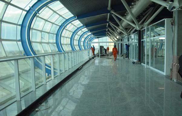 Imágenes nuevo aeropuerto Internacional de Luanda, Angola.- El Muni.