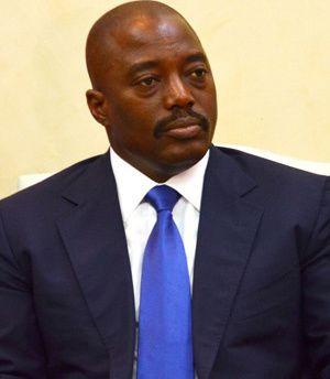 Imágenes de Joseph Kabila, el presidente sátrapa de la Rep. Democrática del Congo.- El Muni.