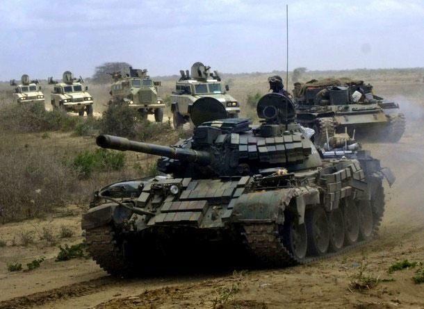 Imágenes de los efectivos de la Misión de la Unión Africana en Somalia (AMISOM).- El Muni.