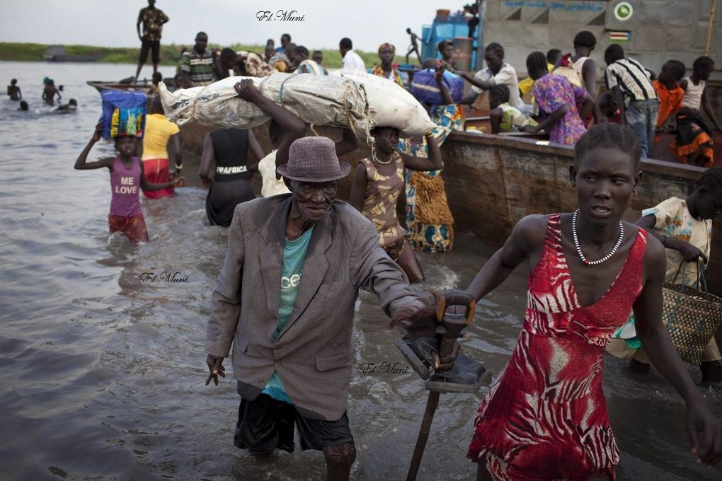 Imágenes de la guerra en Sudan del Sur.- El Muni.
