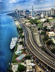 Imágenes de Lagos, distrito federal, Nigeria.- El Muni.