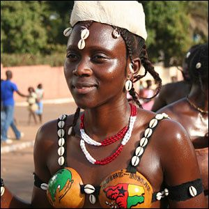 Imágenes de Guinea Bissau.- El Muni.