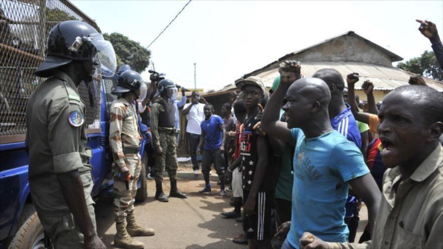 Imágenes de represión en Guinea Conakry.- El Muni.