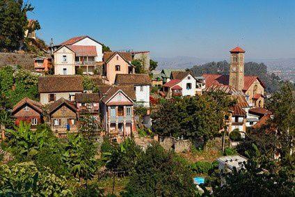 Imágenes de Antananarivo, Capital de Madagascar.- El Muni.