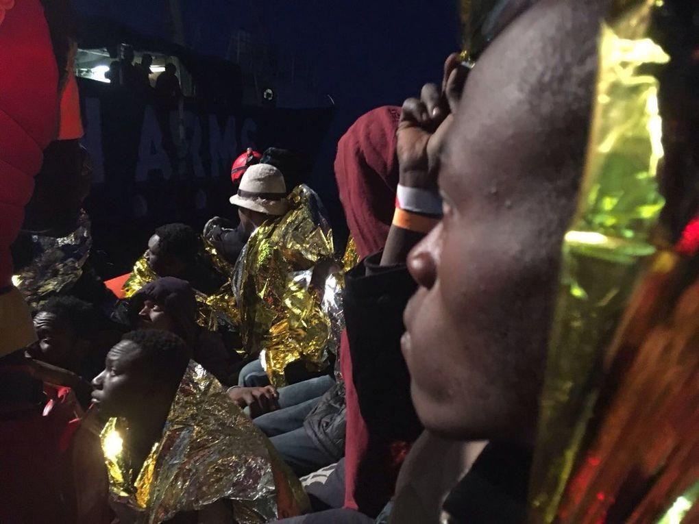 Imágenes de la tragedia migratoria subsahariana en Libya.- El Muni.