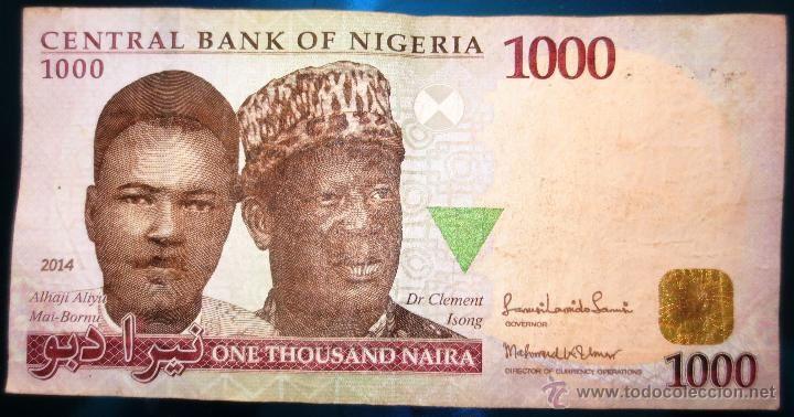 La moneda nigeriana, Naira.- El Muni.