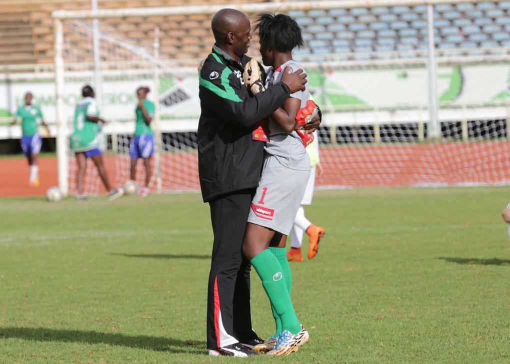 Imágenes escándalo sexual en la selección de fútbol femenino de Kenya.- El Muni.