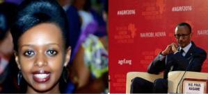 Imágenes de Diane Shima Rwigara, candidata a la presidencia de Rwanda.- El Muni.