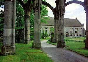 Abbaye Notre-Dame d'Ourscamp (Oise)