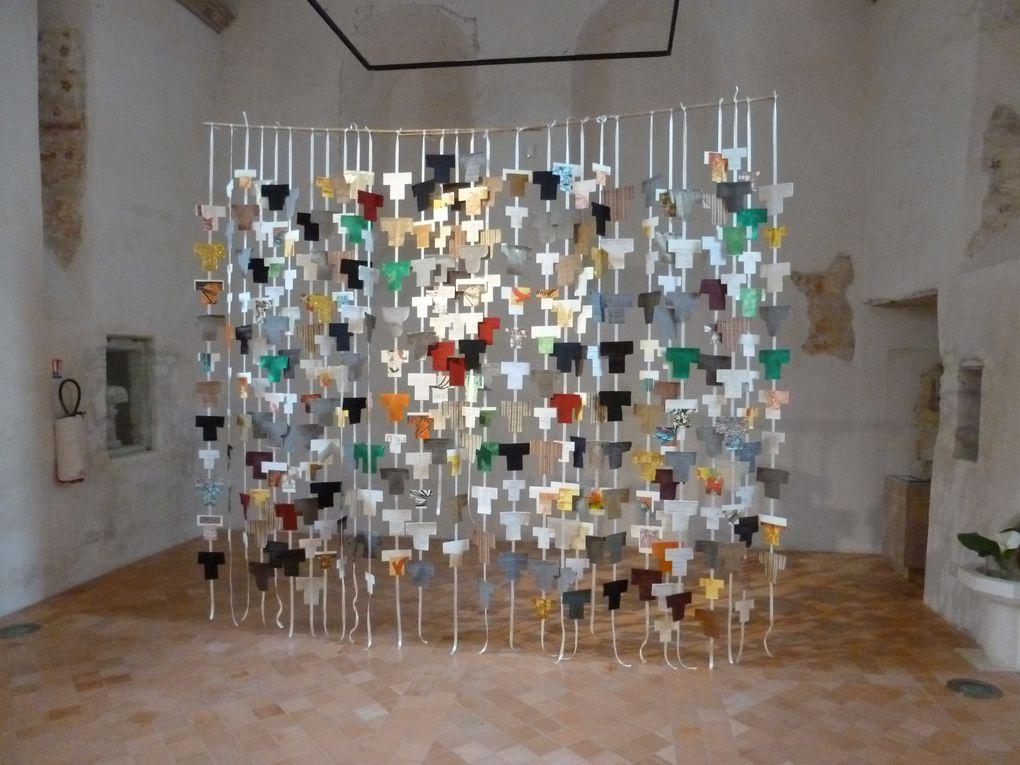 Marie-Jo Chéret dans l'exposition &quot&#x3B; maniVeste &quot&#x3B; à Angers