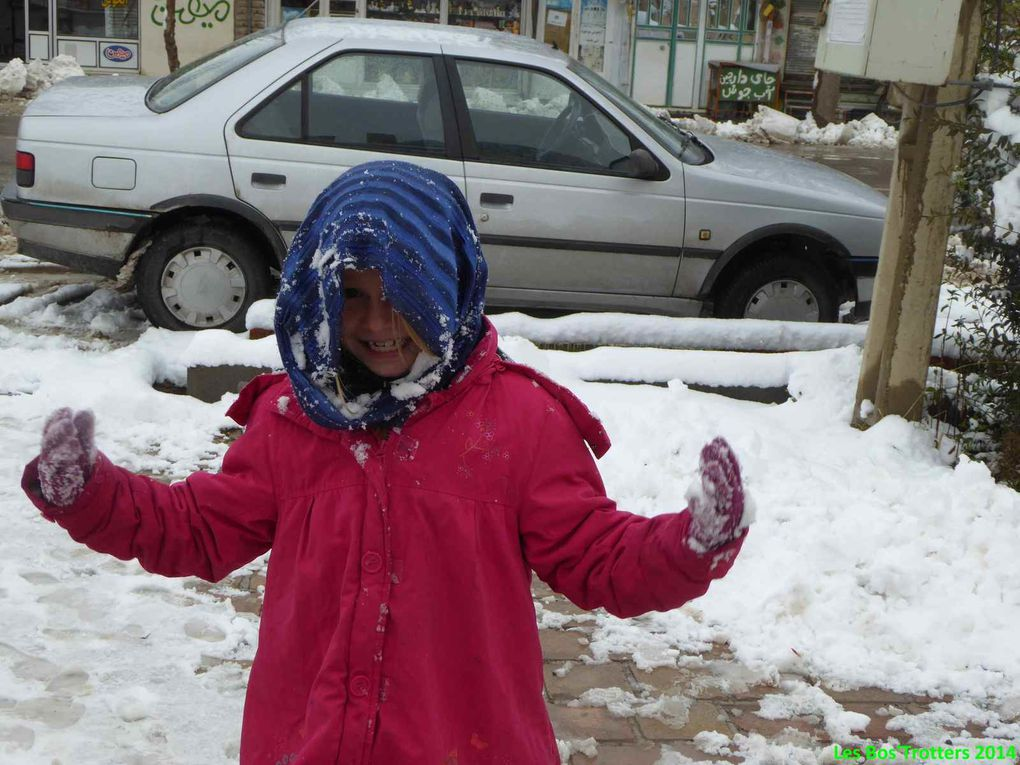 Vive la neige à Soltaniye