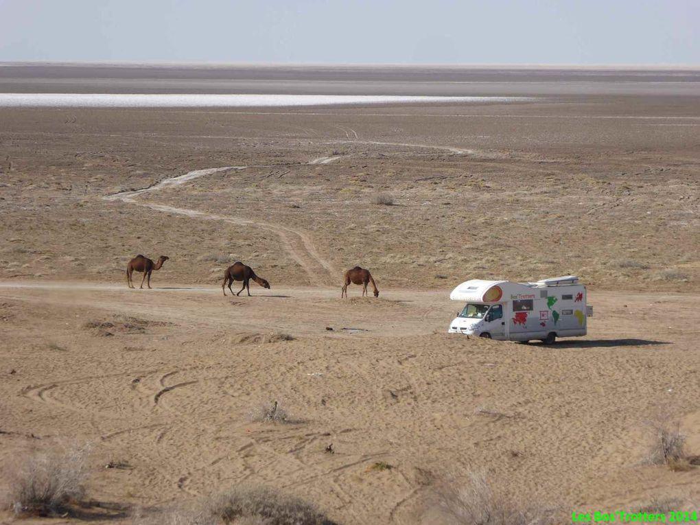 Le désert Dasht-e Khavir
