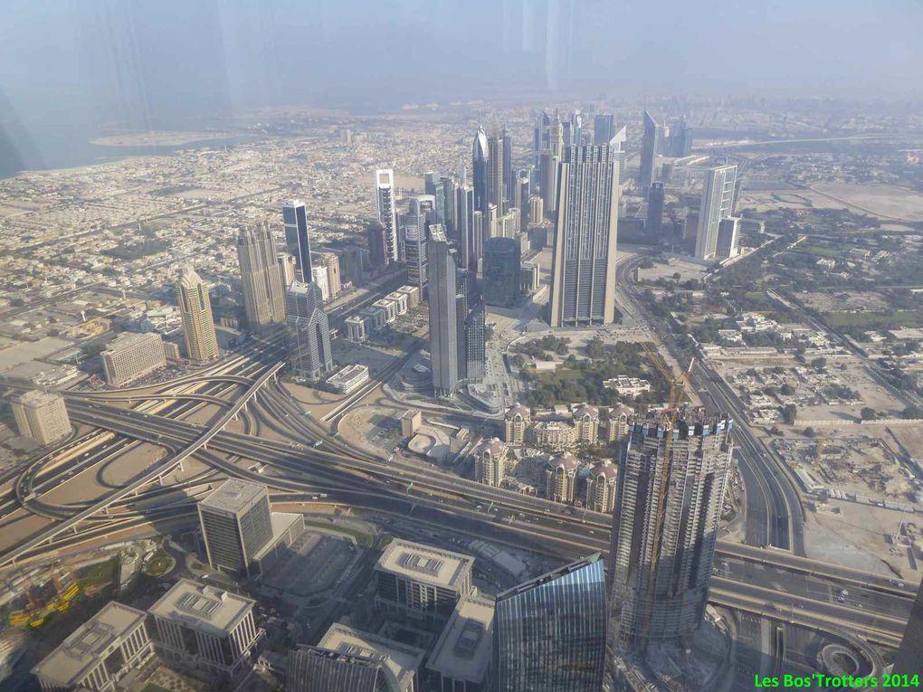 Vieux Dubai et son Souk et ses bateaux - Burj Khalifa - Dubai Mall et ses croissants