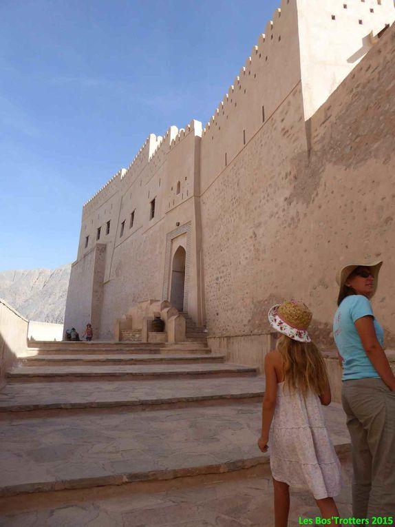 Fort et sources chaudes de Nakhl