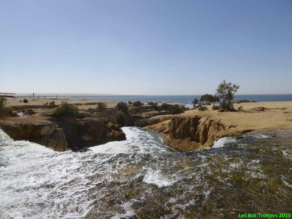 Wadi Rayyan et paysages du Fayoum