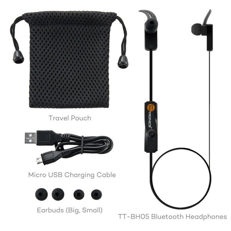 Les écouteurs oreillettes Bluetooth pour le sport TaoTronics