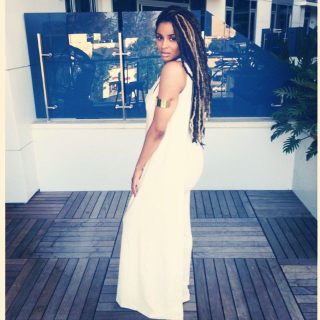 Les fausses locks de Ciara, source instagram.com/ciara