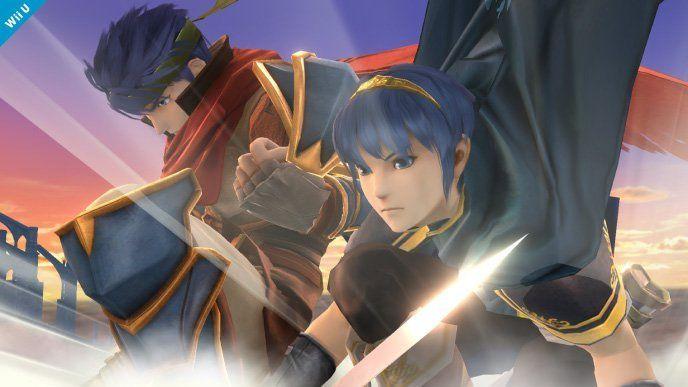 Ike se dévoile en images dans Super Smash Bros. 3DS / Wii U