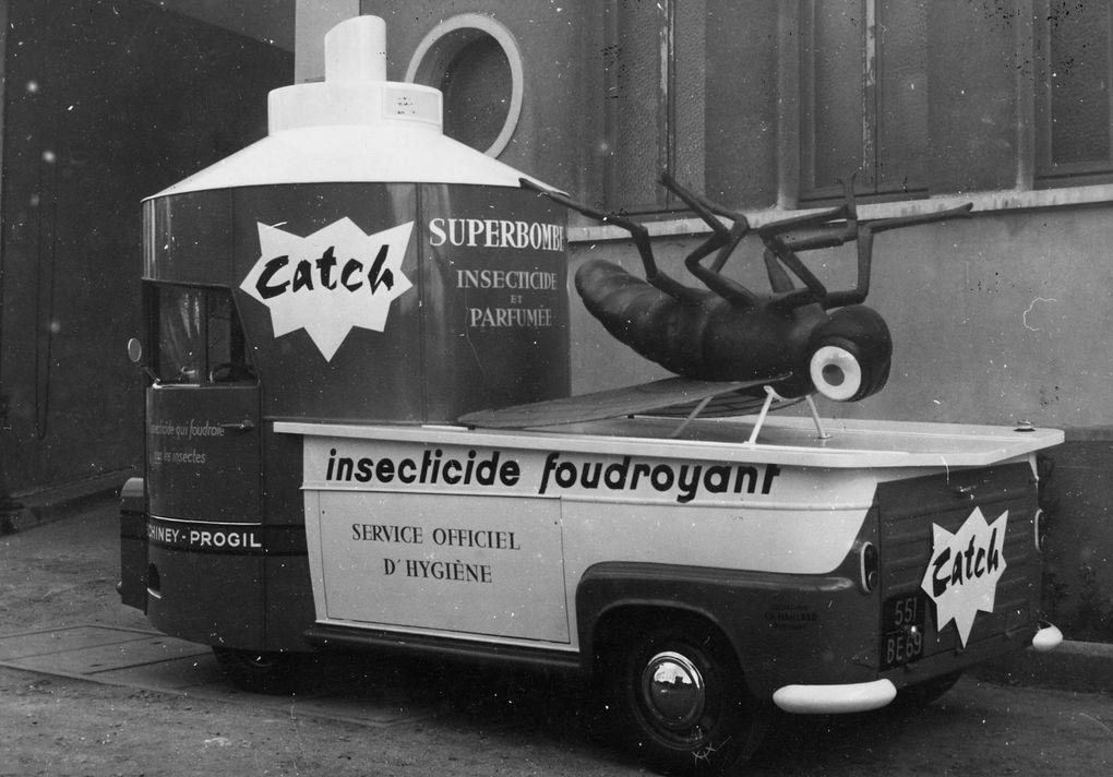 Caravane d'hier… véhicules réalisés par la carrosserie Pourtout (92500) dans les années 1960