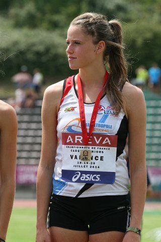 ALIX DEHAYNAIN championne de France de saut à la perche